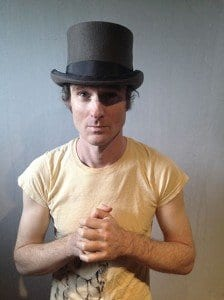 Ethan Gold Top Hat Yellow Shirt