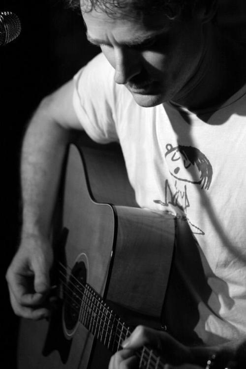 Ethan Gold at His Guitar